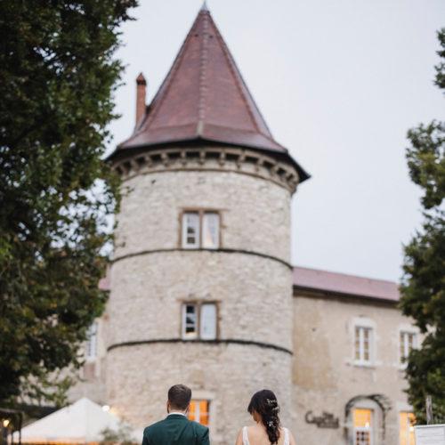 Décoration mariage rhone alpes Art déco receptions Château chapeau cornu (44)